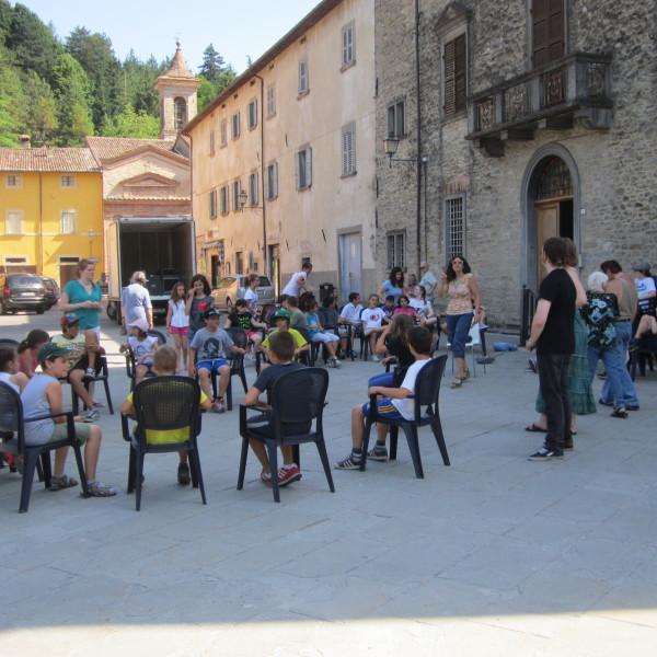 English Summer Camp, outdoor activities