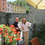 Stanislav Chernyshov e Simona Berardi