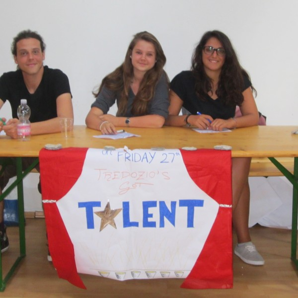 Tredozio's got talent, English Summer Camp