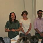 Inaugurazione col sindaco Marchi