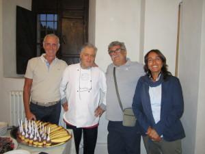 Andrea Succi, Pierluigi Gentilini e Gino Geminiani