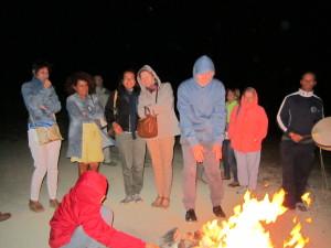 Serata sciamanica al vulcano