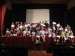 Certificates - final show