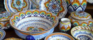 ceramiche tradizionali di Faenza