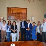 Comune di Faenza, delegazione russa