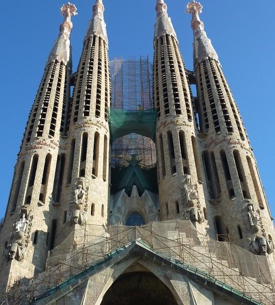 Sagrada-familia, Barcellona