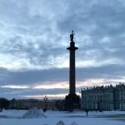 Hermitage e la neve