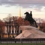 Il cavaliere di bronzo, San Pietroburgo